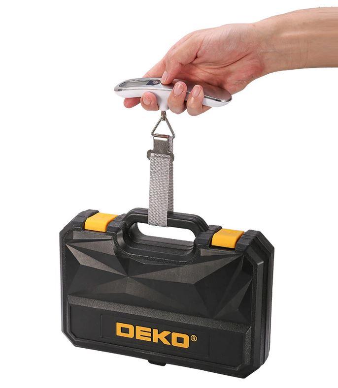 Электронные ручные весы с ЖК-дисплеем DEKO DLS095 с Алиэкспресс