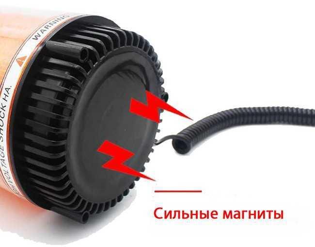 Светодиодная мигалка или проблесковый маячок на крышу автомобиля с Алиэкспресс