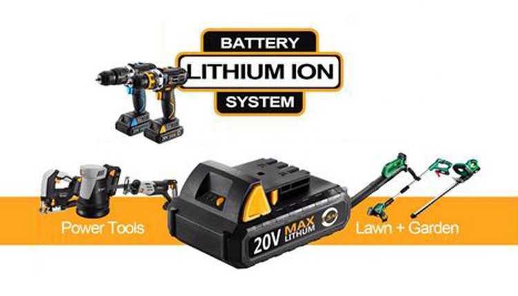 Подборка аккумуляторных батарей для инструментов DEKO с Алиэкспресс