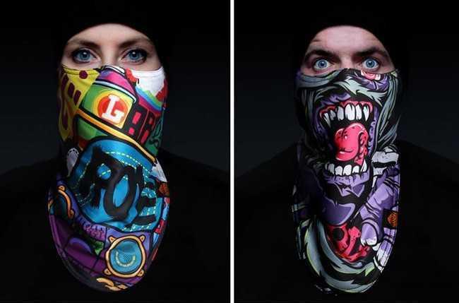 Зимняя защитная маска