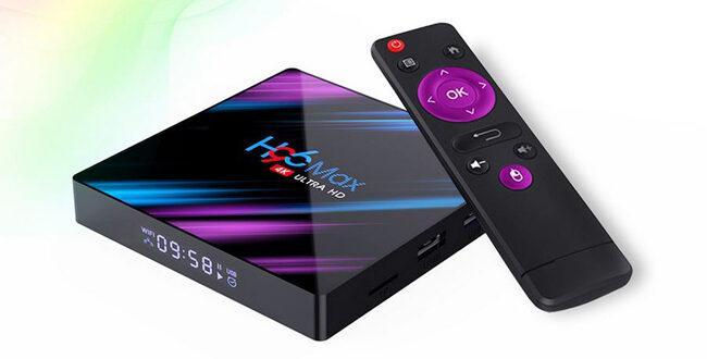 Смарт ТВ-приставка H96 MAX RK3318 Android 9,0 для телевизора с Алиэкспресс