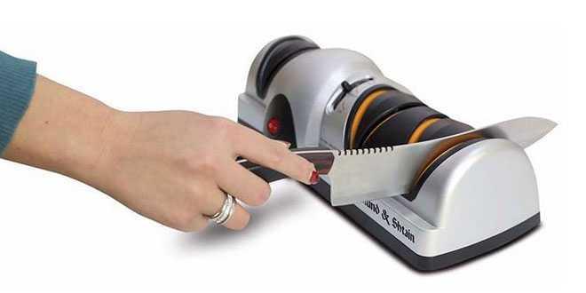 Электрическая ножеточка Zigmund & Shtain ZKS-911 с Алиэкспресс