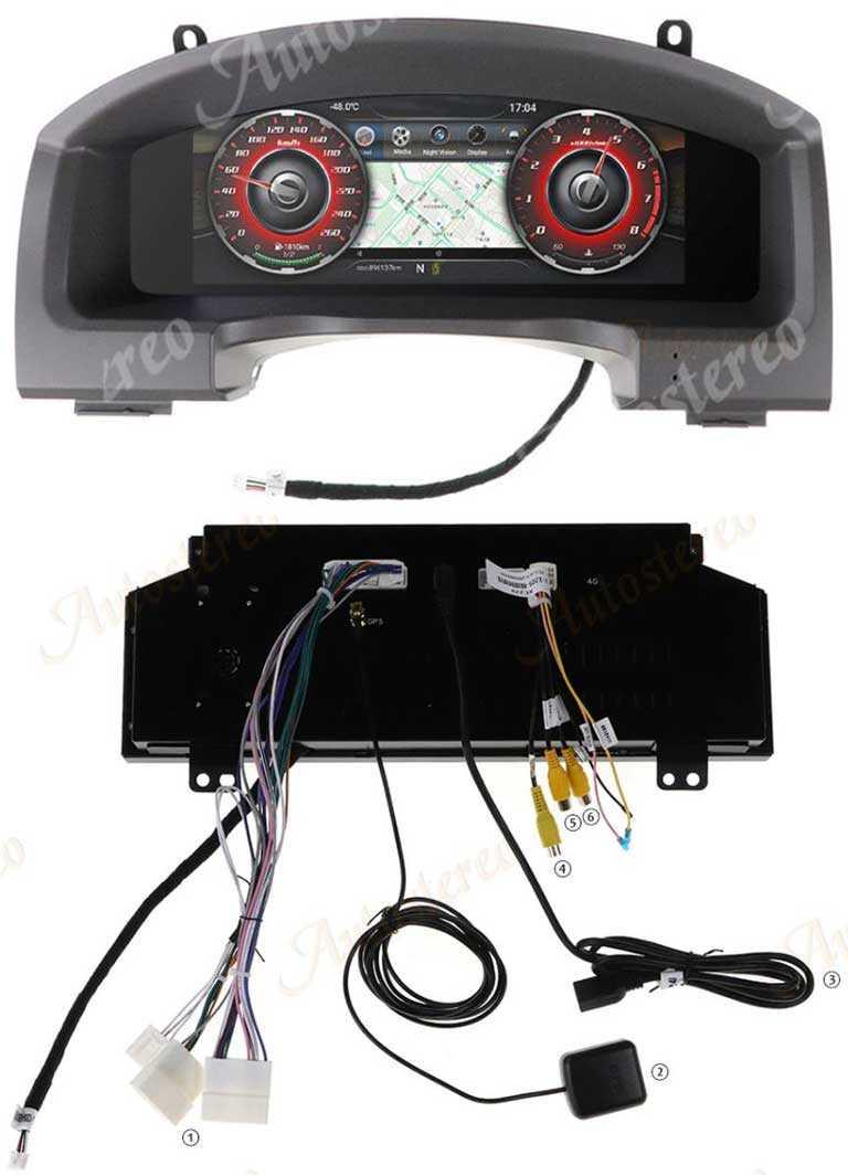 Мультимедийная панель приборов для Toyota Land Cruiser 2008-2020
