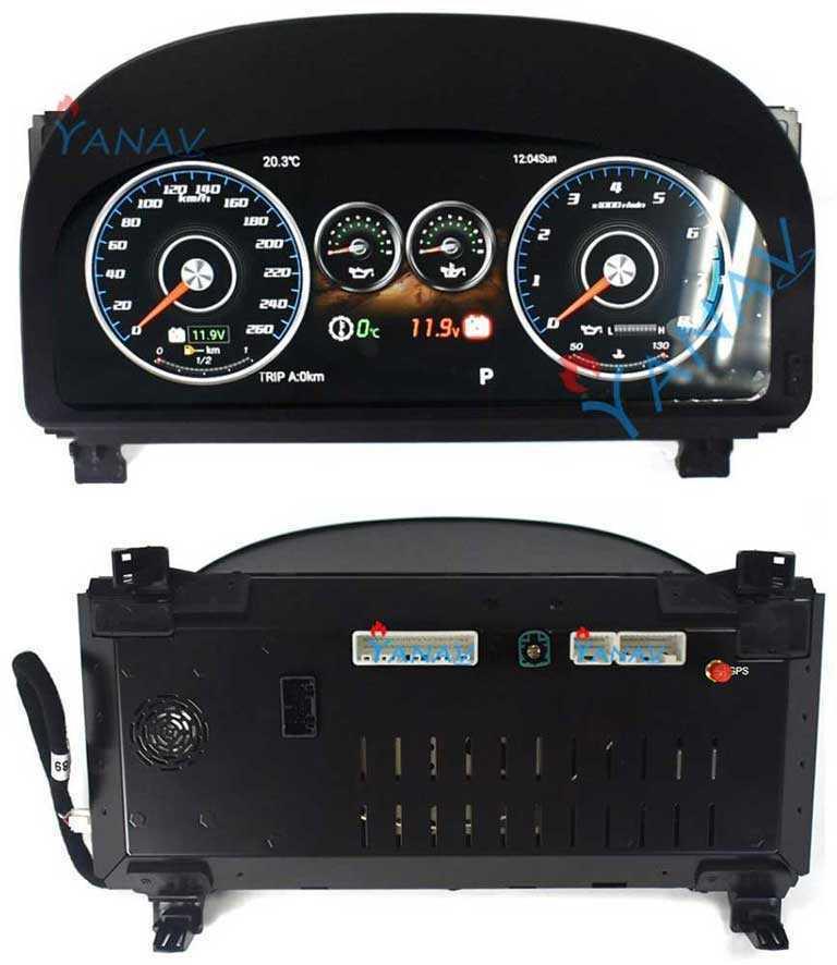 Мультимедийная  панель приборов  для Toyota Vellfire и Alphard 20 2008-2014