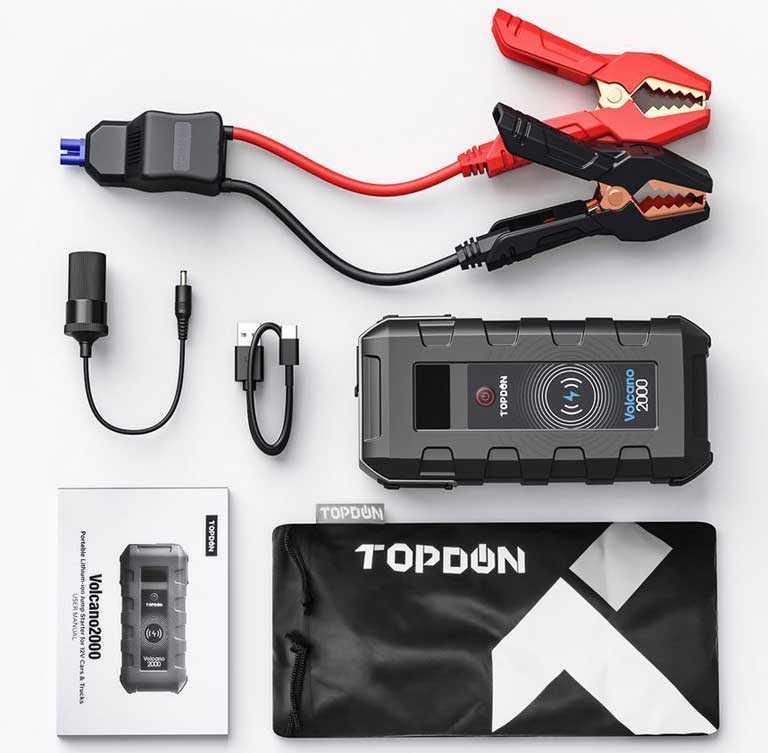 Пусковое устройство Topdon V2000