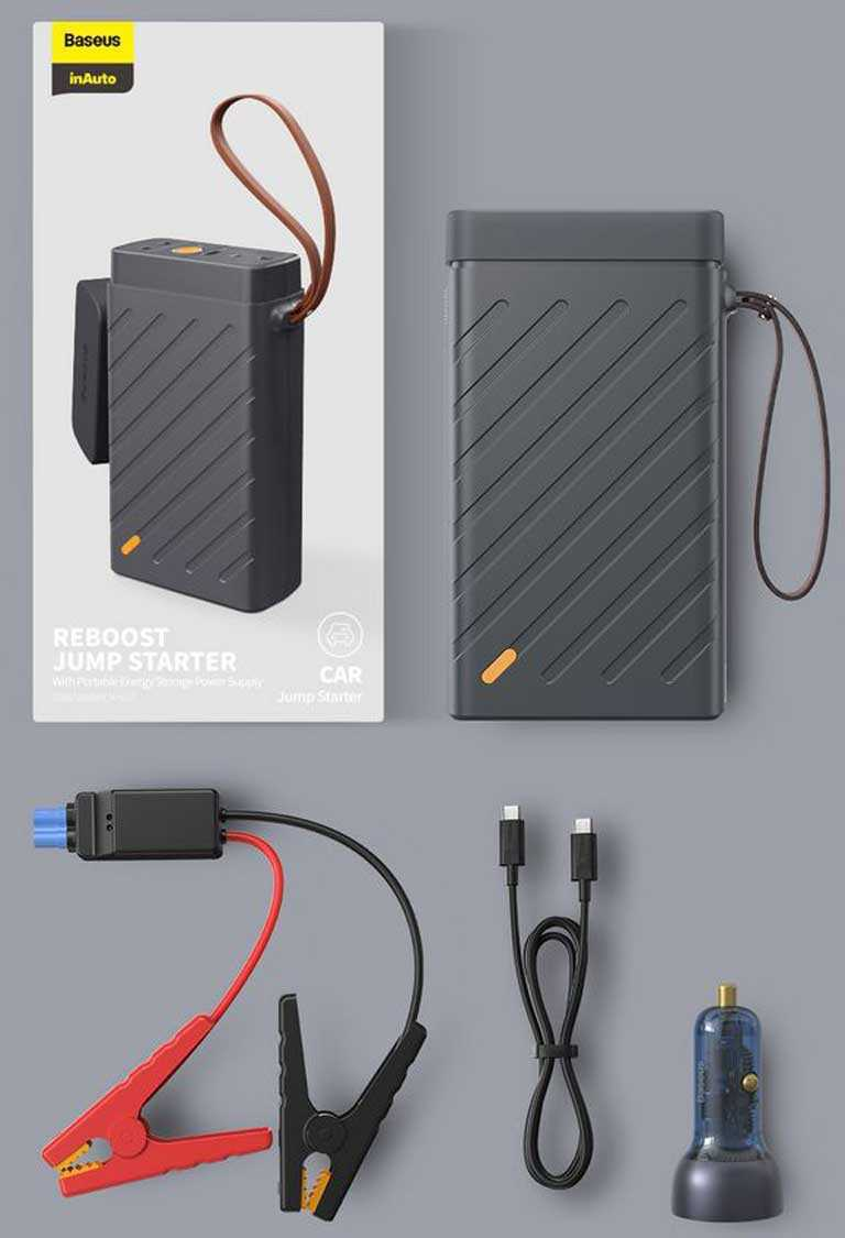Пусковое устройство Baseus 1600A