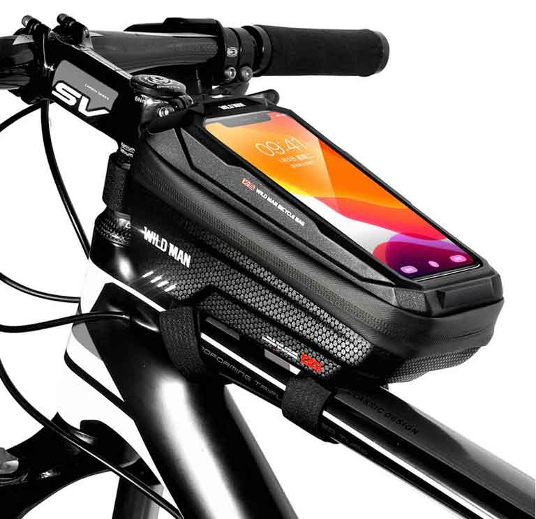 Велосипедный чехол держатель телефона